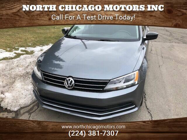 2015 Volkswagen Jetta for sale at NORTH CHICAGO MOTORS INC in North Chicago IL