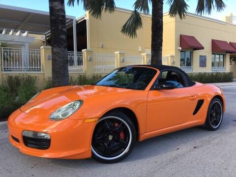 2008 Porsche Boxster for sale at FIRST FLORIDA MOTOR SPORTS in Pompano Beach FL