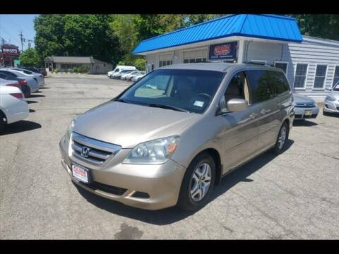 2005 Honda Odyssey for sale at Colonial Motors in Mine Hill NJ