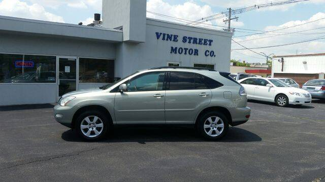 2007 Lexus RX 350 for sale at VINE STREET MOTOR CO in Urbana IL
