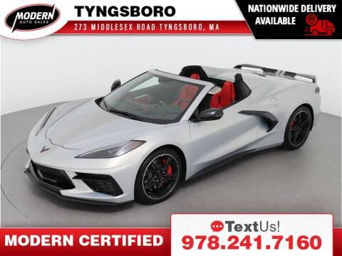 2021 Chevrolet Corvette for sale at Modern Auto Sales in Tyngsboro MA