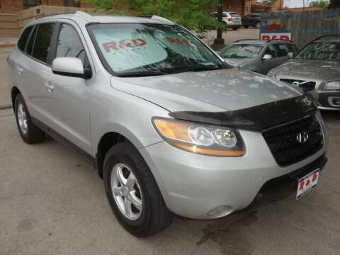 2008 Hyundai Santa Fe for sale at R & D Motors in Austin TX