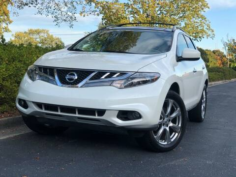 2012 Nissan Murano for sale at William D Auto Sales in Norcross GA