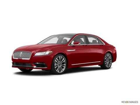 2017 Lincoln Continental for sale at BAYWAY Certified Pre-Owned in Houston TX