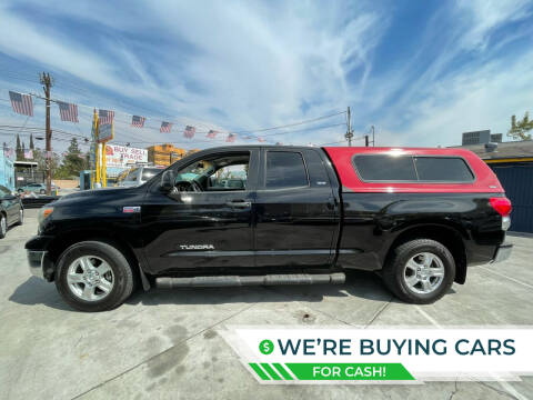 2008 Toyota Tundra for sale at Good Vibes Auto Sales in North Hollywood CA
