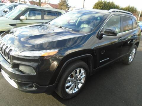 2016 Jeep Cherokee for sale at Island Auto Buyers in West Babylon NY