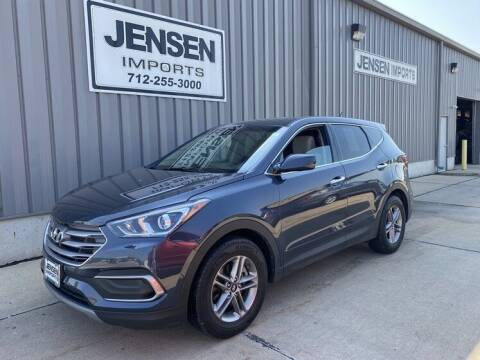 2018 Hyundai Santa Fe Sport for sale at Jensen's Dealerships in Sioux City IA
