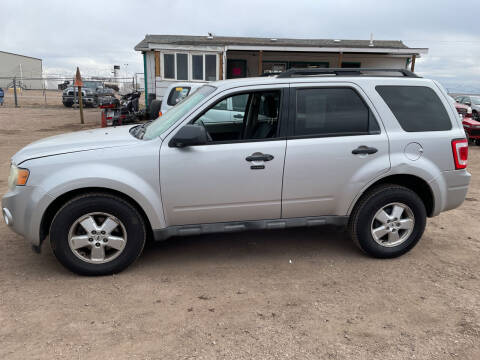 2009 Ford Escape for sale at PYRAMID MOTORS - Fountain Lot in Fountain CO