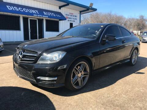 2015 Mercedes-Benz C-Class for sale at Discount Auto Company in Houston TX