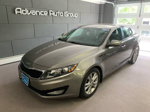 2013 Kia Optima for sale at Advance Auto Group, LLC in Chichester NH