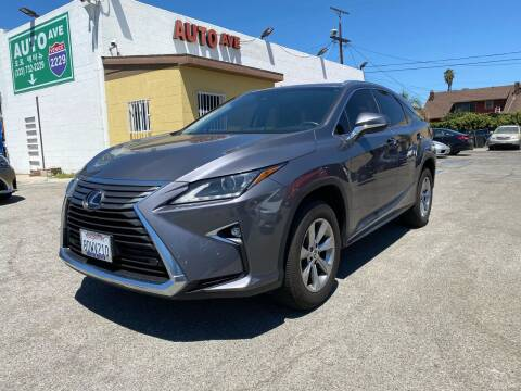 2018 Lexus RX 350 for sale at Auto Ave in Los Angeles CA