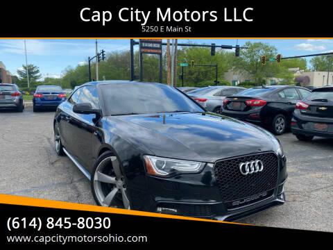 2014 Audi S5 for sale at Cap City Motors LLC in Columbus OH