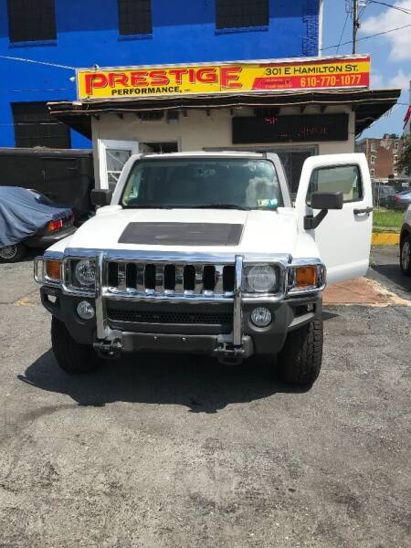 2007 HUMMER H3 for sale at PRESTIGE PERFORMANCE in Allentown PA