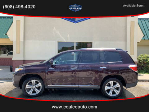 2012 Toyota Highlander for sale at Coulee Auto in La Crosse WI