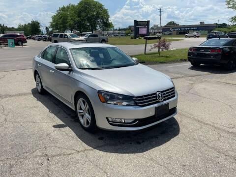 2013 Volkswagen Passat for sale at Dean's Auto Sales in Flint MI
