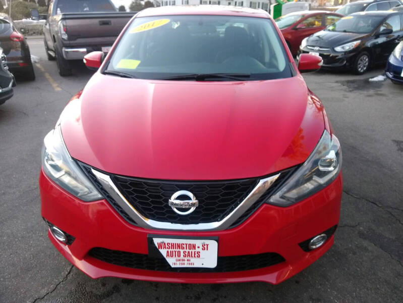 2017 Nissan Sentra for sale at Washington Street Auto Sales in Canton MA