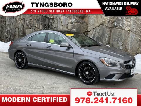 2014 Mercedes-Benz CLA for sale at Modern Auto Sales in Tyngsboro MA