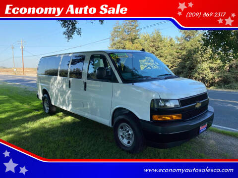 2019 Chevrolet Express Passenger for sale at Economy Auto Sale in Modesto CA