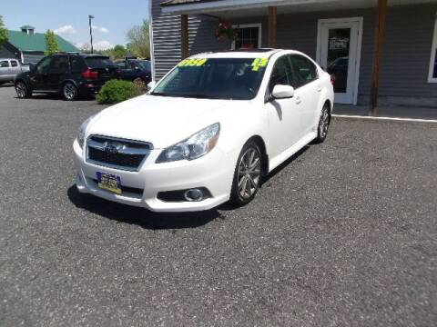 2013 Subaru Legacy for sale at Lakes Region Auto Source LLC in New Durham NH
