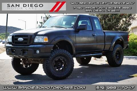 2006 Ford Ranger for sale at San Diego Motor Cars LLC in San Diego CA