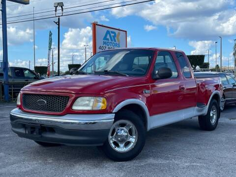 2001 Ford F-150 for sale at Ark Motors in Orlando FL