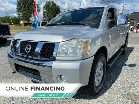 2004 Nissan Titan for sale at Auto Store of NC in Walkertown NC