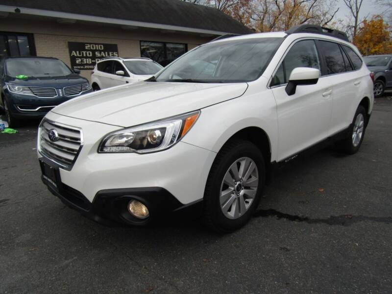 2017 Subaru Outback for sale at 2010 Auto Sales in Troy NY