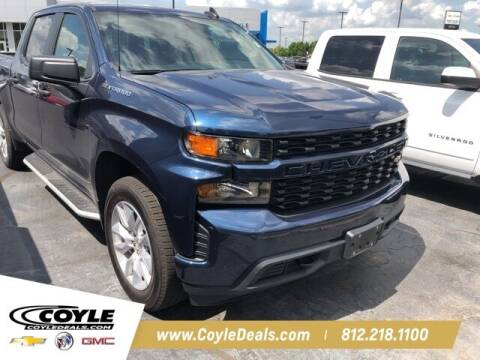 2020 Chevrolet Silverado 1500 for sale at COYLE GM - COYLE NISSAN - New Inventory in Clarksville IN