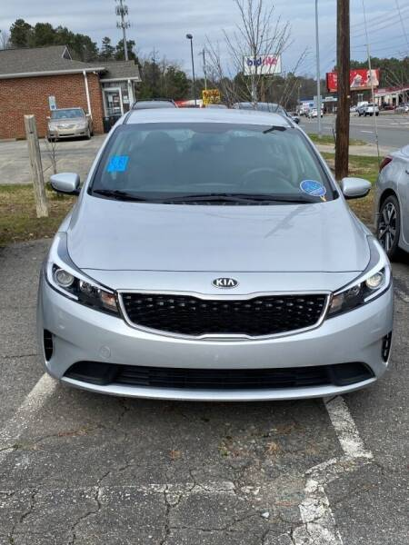2017 Kia Forte for sale at Assistive Automotive Center in Durham NC