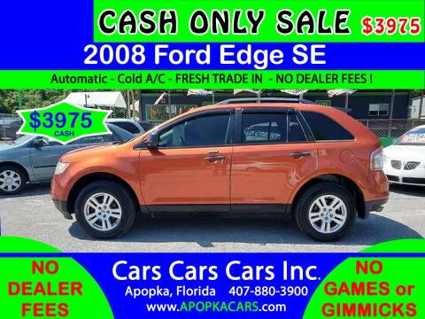 2008 Ford Edge for sale at CARS CARS CARS INC in Apopka FL