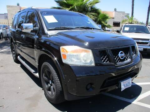 2012 Nissan Armada for sale at F & A Car Sales Inc in Ontario CA