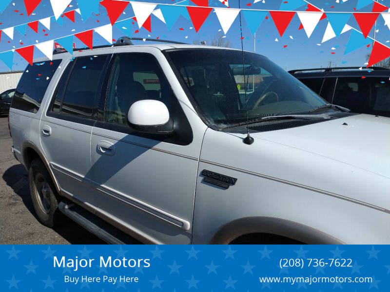 1998 Ford Expedition for sale at Major Motors in Twin Falls ID