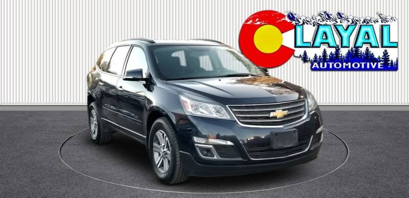 2017 Chevrolet Traverse for sale at Layal Automotive in Englewood CO