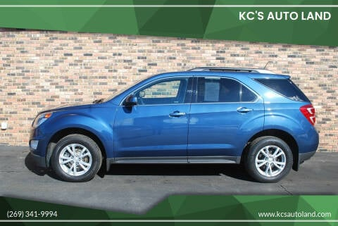 2016 Chevrolet Equinox for sale at KC'S Auto Land in Kalamazoo MI