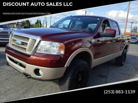 2007 Ford F-150 for sale at DISCOUNT AUTO SALES LLC in Lakewood WA