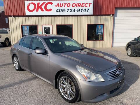2007 Infiniti G35 for sale at OKC Auto Direct in Oklahoma City OK