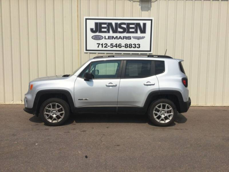 2019 Jeep Renegade for sale at Jensen's Dealerships in Sioux City IA