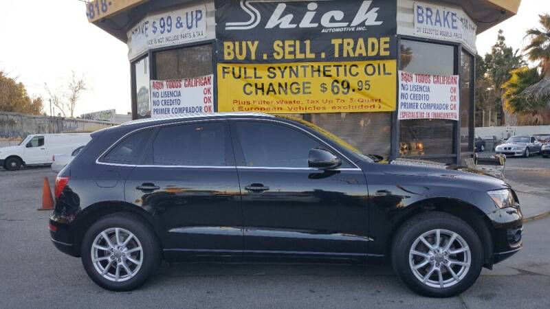 2012 Audi Q5 for sale at Shick Automotive Inc in North Hills CA