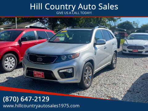 2012 Kia Sorento for sale at Hill Country Auto Sales in Maynard AR