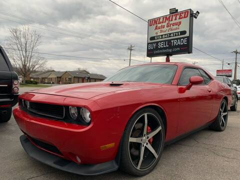 2013 Dodge Challenger for sale at Unlimited Auto Group in West Chester OH
