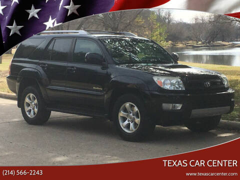 2005 Toyota 4Runner for sale at Texas Car Center in Dallas TX