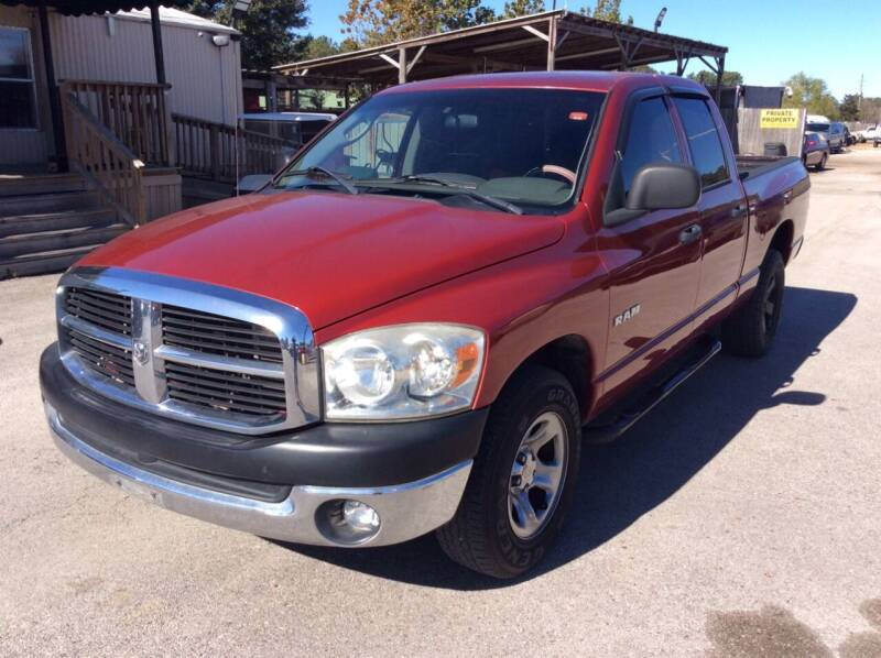 2008 Dodge Ram Pickup 1500 for sale at OASIS PARK & SELL in Spring TX