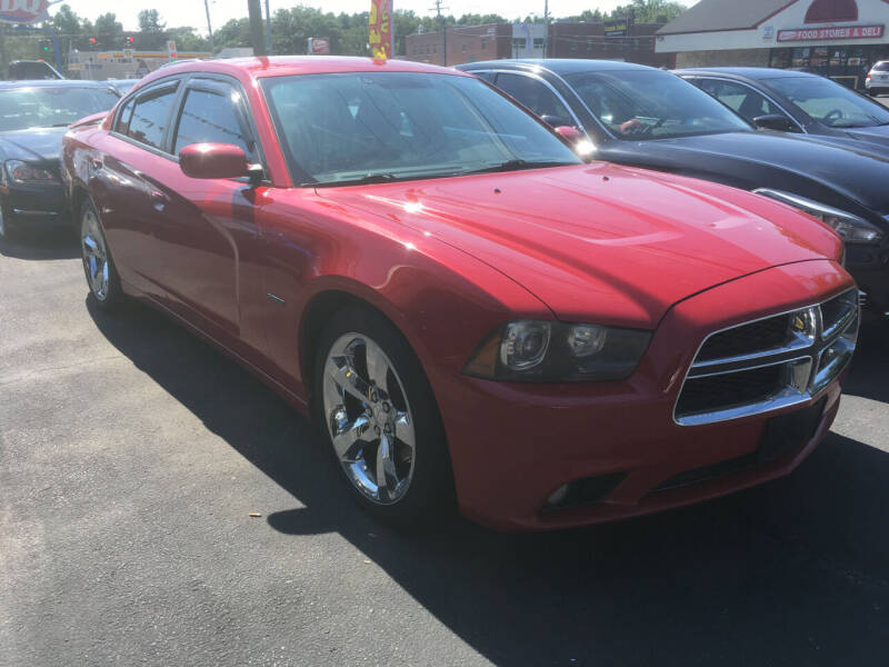 2012 Dodge Charger for sale at MELILLO MOTORS INC in North Haven CT