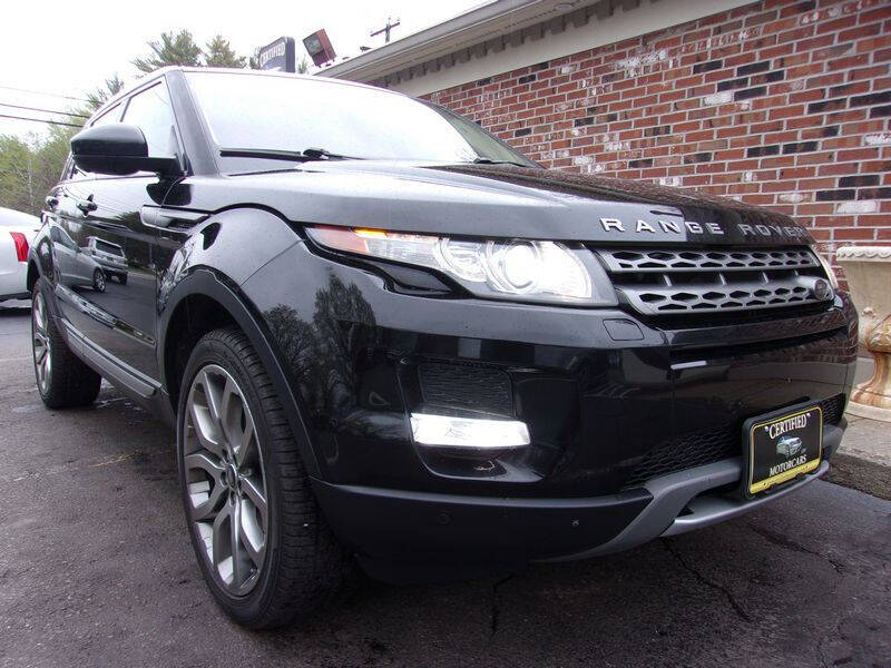 2015 Land Rover Range Rover Evoque for sale at Certified Motorcars LLC in Franklin NH