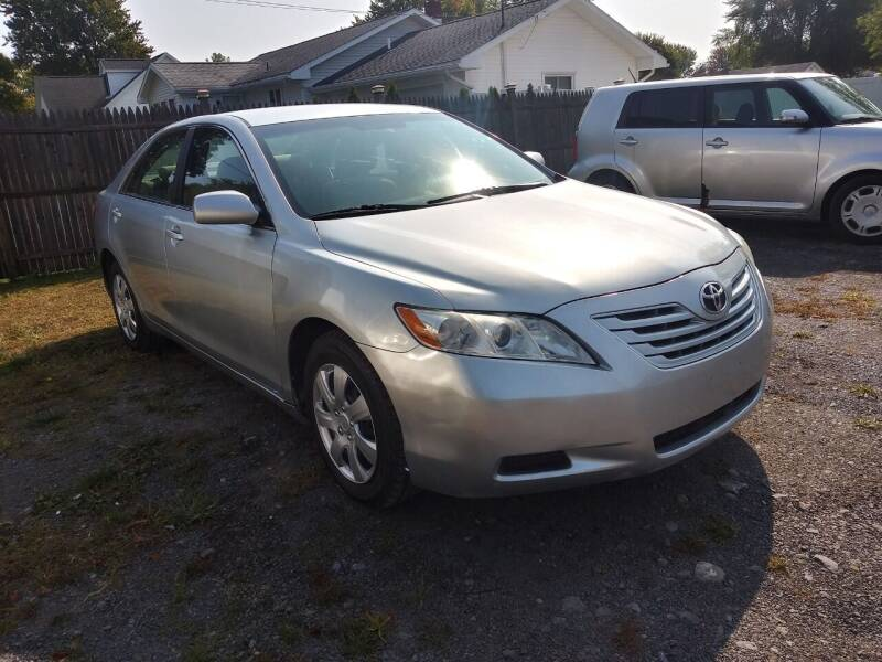 2007 Toyota Camry for sale at John's Auto Sales & Service Inc in Waterloo NY