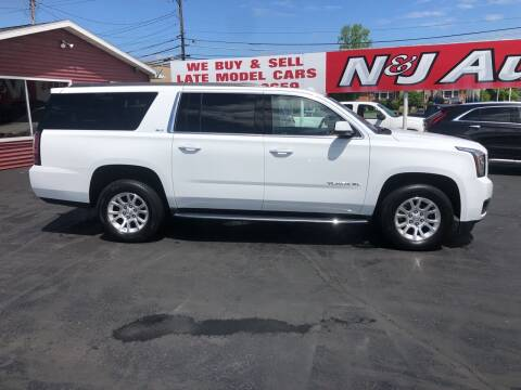 2019 GMC Yukon XL for sale at N & J Auto Sales in Warsaw IN