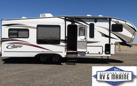 2015 KEYSTONE COUGAR 29RET for sale at SOUTHERN IDAHO RV AND MARINE - 5th Wheels in Jerome ID