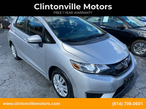 2016 Honda Fit for sale at Clintonville Motors in Columbus OH