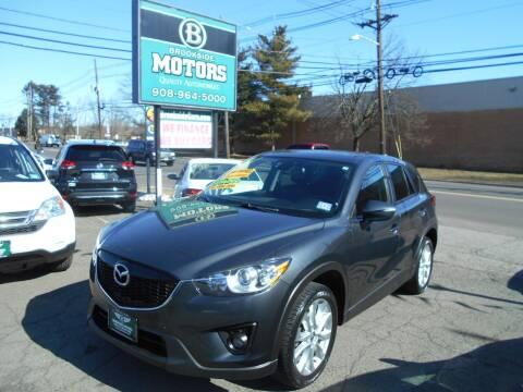 2015 Mazda CX-5 for sale at Brookside Motors in Union NJ