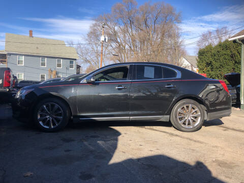 2013 Lincoln MKS for sale at Connecticut Auto Wholesalers in Torrington CT